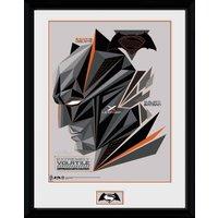 Batman Vs Superman Volatile Framed Collector Print - Batman Gifts