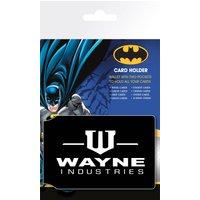 Batman Wayne Travel Pass Card Holder - Batman Gifts