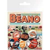 Beano Dennis the Menace Classic Badge Pack - Beano Gifts