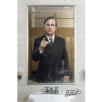 Better Call Saul Mirror Maxi Poster
