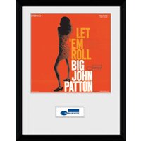 Blue Note Patton Framed Collector Print