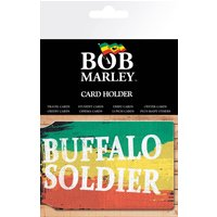 Bob Marley Buffalo Soldier Travel Pass Card Holder - Bob Marley Gifts