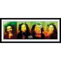 Bob Marley Faces Collector Print - Bob Marley Gifts