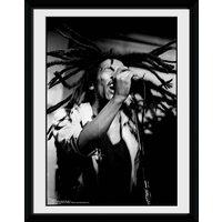 Bob Marley Hair Framed Collector Print - Bob Marley Gifts