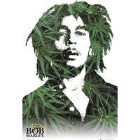Bob Marley Leaves Maxi Poster - Bob Marley Gifts