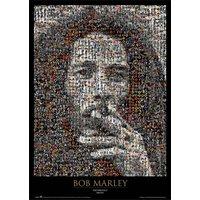 Bob Marley Mosaic Maxi Poster - Bob Marley Gifts