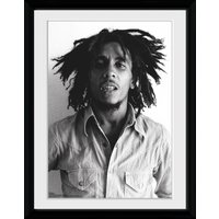 Bob Marley one Love Framed Collector Print - Bob Marley Gifts
