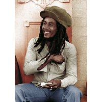 Bob Marley Rolling 2 Maxi Poster - Bob Marley Gifts