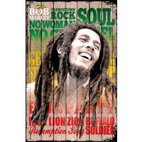 Bob Marley Songs Maxi Poster - Bob Marley Gifts