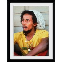 Bob Marley Yellow Framed Collector Print - Bob Marley Gifts