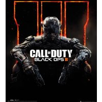 Call Of Duty Black Ops 3 Cover Mini Poster - Call Of Duty Gifts