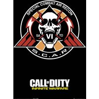 Call Of Duty: Infinite Warfare Scar Maxi Poster - Call Of Duty Gifts