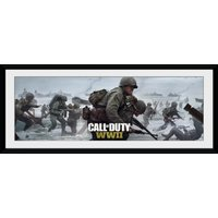 Call Of Duty Stronghold WII Comraderie Framed Collector Print - Wii Gifts
