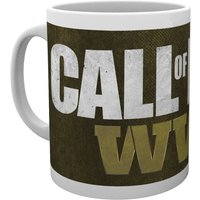 Call Of Duty WWII Logo Mug - Call Of Duty Gifts