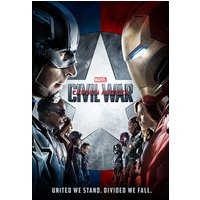 Captain America Civil War One Sheet Maxi Poster - Gbposters Gifts