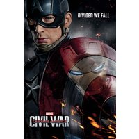 Captain America Civil War Reflection Maxi Poster