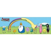 Adventure Time Characters Door Poster - Adventure Time Gifts