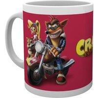 Crash Bandicoot Bike Mug - Bike Gifts