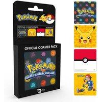 Pokemon Mix Coaster Pack - Pokemon Gifts