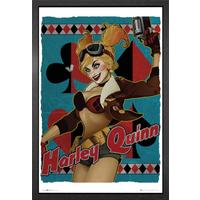 DC Comics Harley Quinn Bombshell Framed Maxi Poster