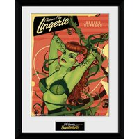 DC Comics Posion Ivy Framed Collector Print