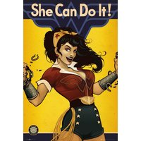 DC Comics Wonder Woman Bombshell Maxi Poster - Wonder Woman Gifts