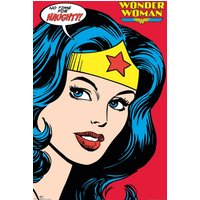 DC Comics Wonder Woman Close Up Maxi Poster - Wonder Woman Gifts