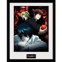 Death Note Light  L and Misa Framed Collector Print