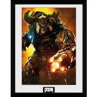 Doom Cyber Demon Collector Print