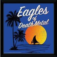 Eagles of Death Metal Sunset Framed Album Print - Art Gifts