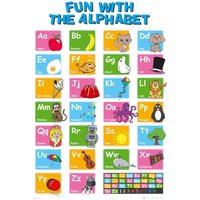 Educational Alphabet Maxi Poster - Educational Gifts