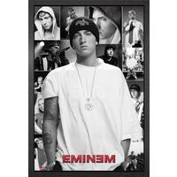 Eminem Collage Framed Maxi Poster - Eminem Gifts