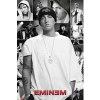 Eminem Collage Maxi Poster - Eminem Gifts