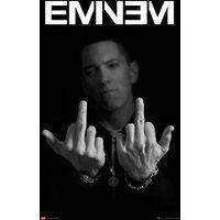 Eminem Finger Maxi Poster - Eminem Gifts