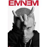 Eminem Horns Maxi Poster - Eminem Gifts