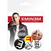 Eminem Logos Badge Pack - Eminem Gifts