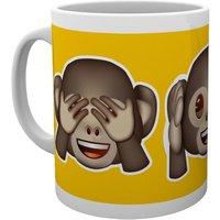 Emoji Monkeys Mug - Monkeys Gifts