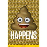 Emoji Poo Maxi Poster - Poo Gifts
