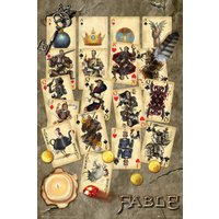 Fable Playing Cards Maxi Poster - Playing Cards Gifts