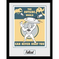 Fallout Outside Collector Print