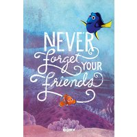 Finding Dory Never Forget Your Friends Maxi Poster