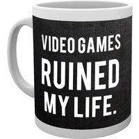 GAMING Ruined My Life Mug