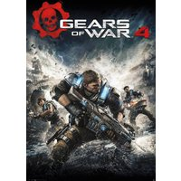 Gears Of War 4 Game Cover Maxi Poster - Gears Of War Gifts