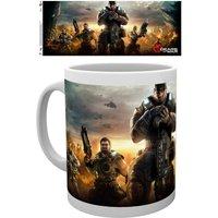 Gears Of War 4 Keyart 3 Mug - Gears Of War Gifts