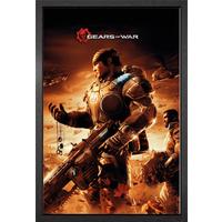 Gears Of War Key Art Framed Maxi Poster - Gears Of War Gifts