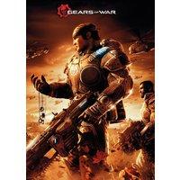 Gears Of War Key Art Maxi Poster - Gears Of War Gifts
