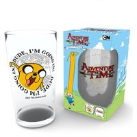 Adventure Time Going In Pint Glass