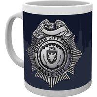 Gotham Police Badge Mug - Police Gifts
