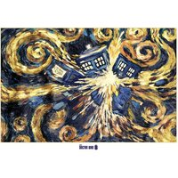 Doctor Who Exploding Tardis Giant Poster