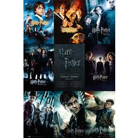 Harry Potter Collection Maxi Poster - Harry Potter Gifts